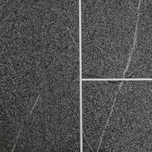 Grey Granite Tile Groove Bathroom Wall Panels 8mm Shower Cladding - Claddtech