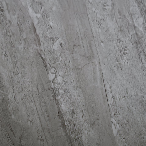 Grey Natural Sandstone Bathroom Wall Panels PVC 5mm Thick Cladding 2.6m x 250mm - Claddtech