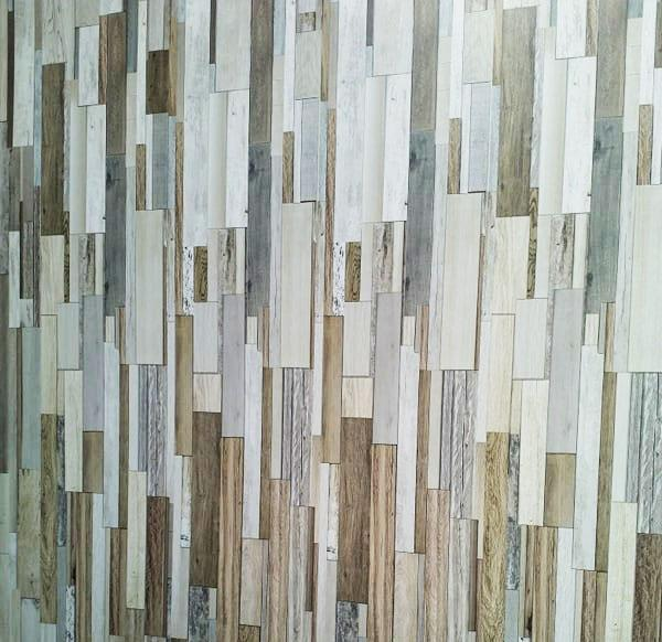 Marino Natural Wood Bathroom Wall Panels PVC 8mm Thick Cladding 2.6m x 0.25m (Pack of 4) - Claddtech