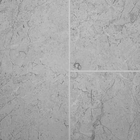White Alabaster Marble Tile Groove Bathroom Wall Panels 8mm Shower Cladding - Claddtech