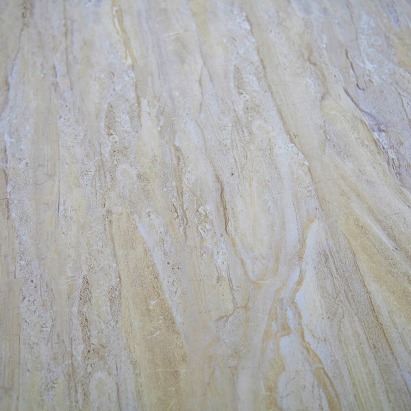 Beige Natural Sandstone Bathroom Wall Panels PVC 5mm Thick Cladding 2.6m x 250mm - Claddtech