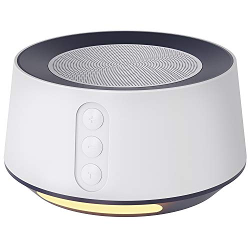 Letsfit White Noise Machine with Baby Night Light for Sleeping.