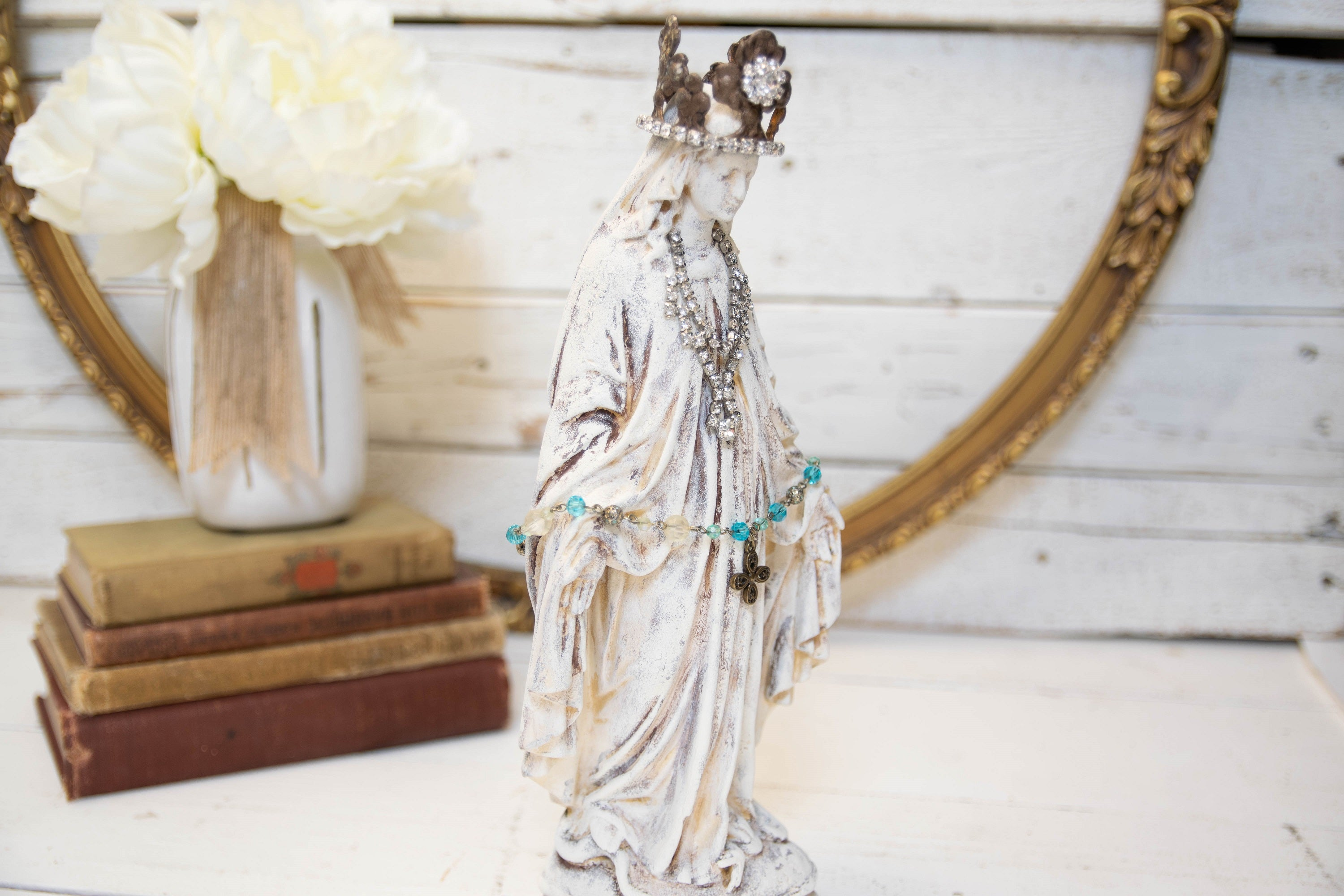 French Nordic Virgin Mary statue