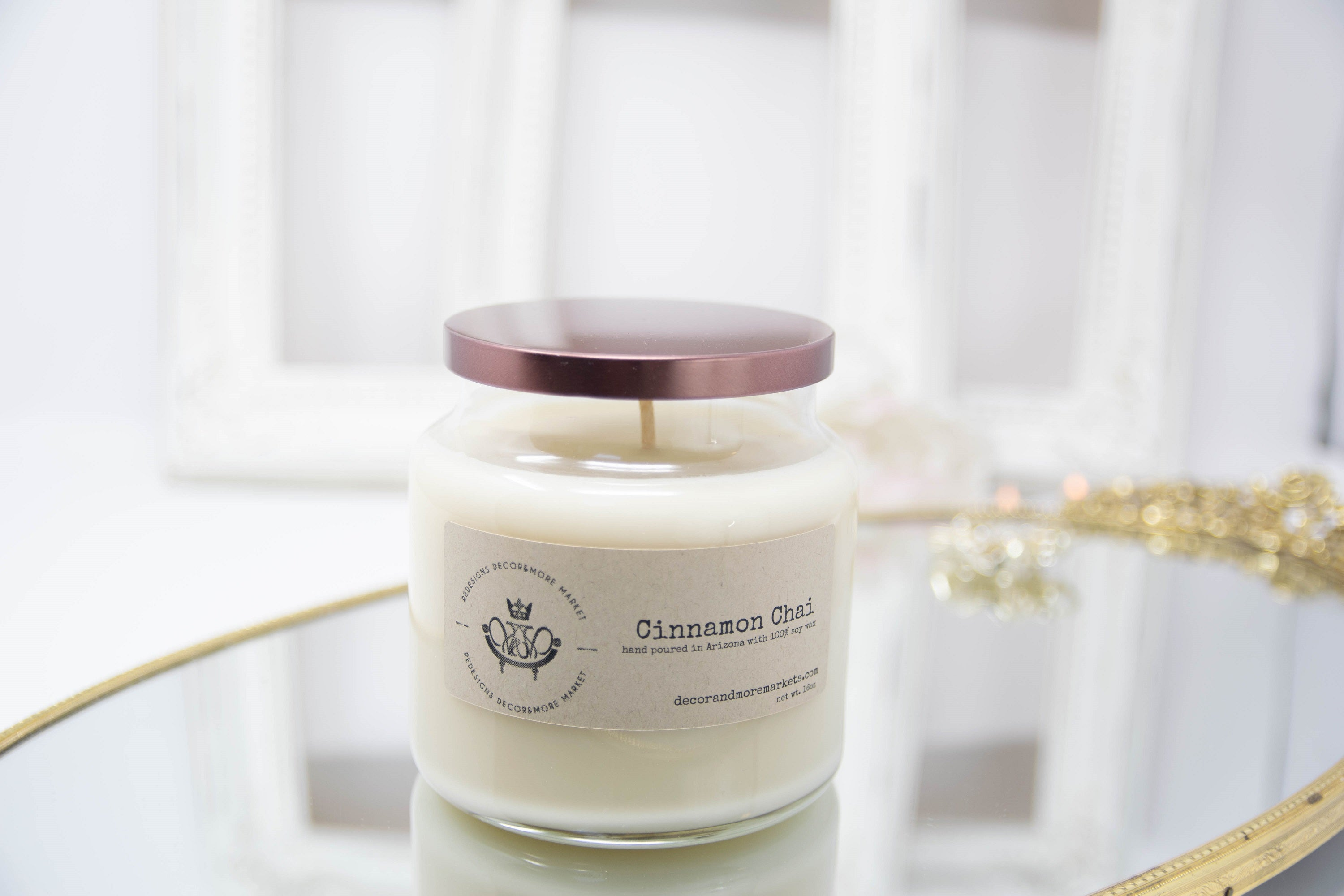 Cinnamon Chai candle, scented candle, fall candle, fall scent, soy candle, fall decor