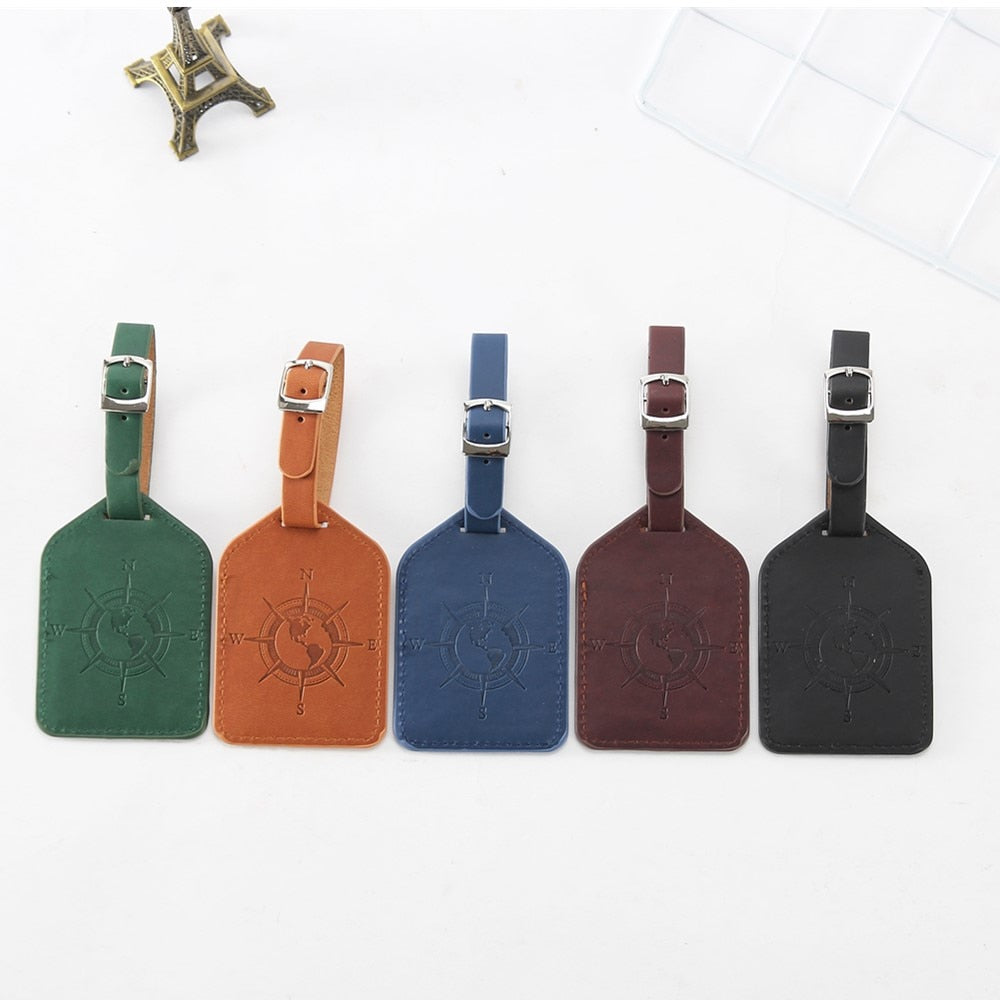 Compass Luggage Tag