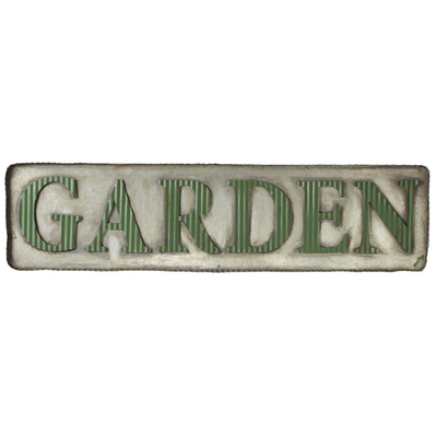Garden Galvanized Sign - Simply Devine Gifts and Decor
