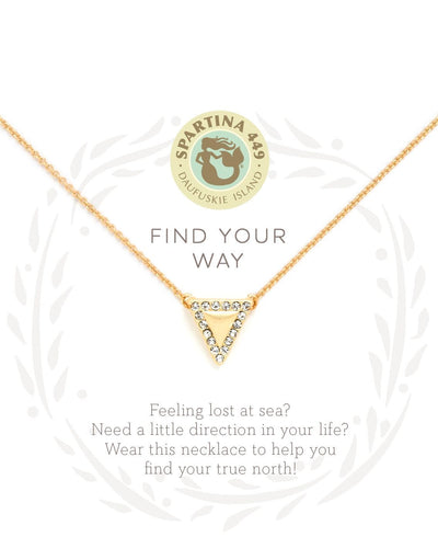 Find Your Way Spartina Necklace - Simply Devine Gifts and Decor