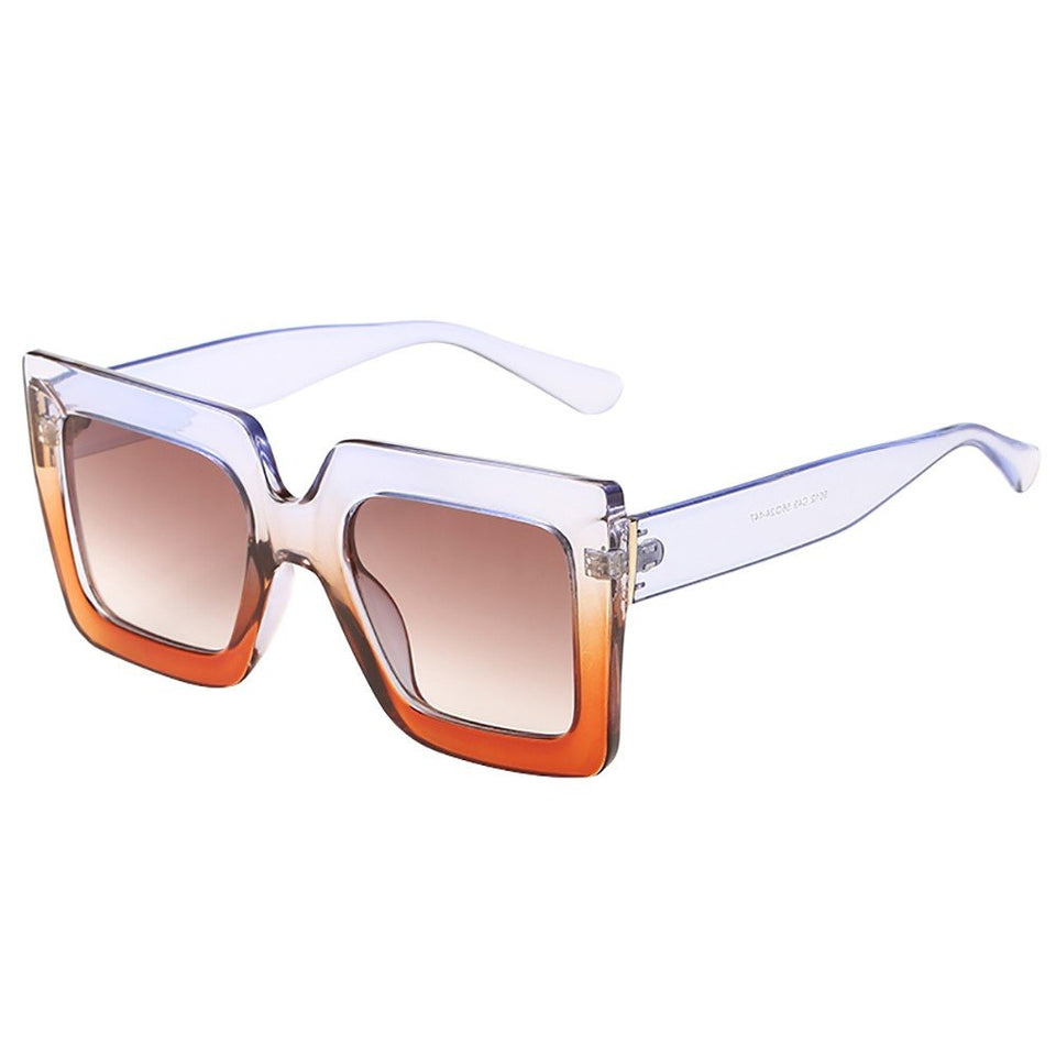 Big Frame Retro Sunglasses