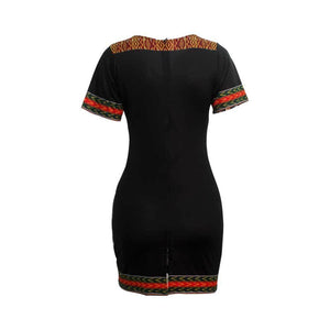 Homeland V Neck Vintage Dress