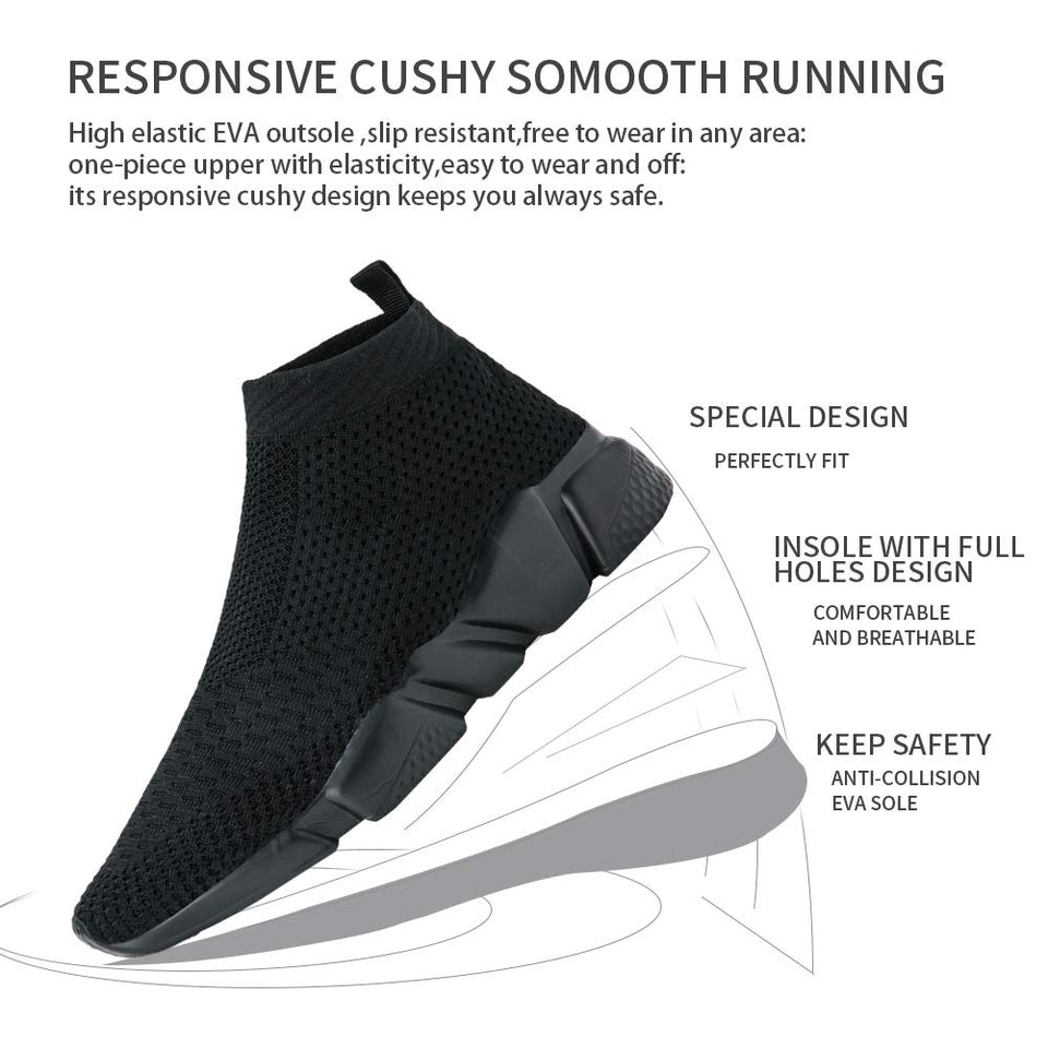 Black Excellence Sock Runners