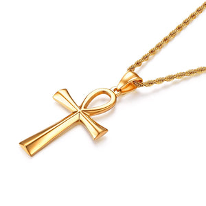Ankh Pendant with Necklace