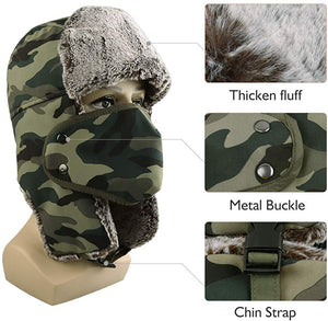 Trooper Winter Hat with Face mask