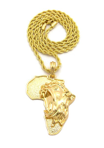 African Judah Lion Chain