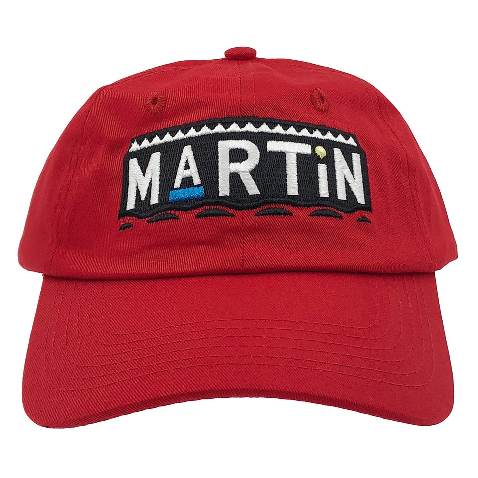 Martin Tv Show Hat Baseball Cap 90s Dad Hat (Red)