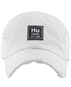 "The ""Hustle 24-7 365 days"" Dad Hat"