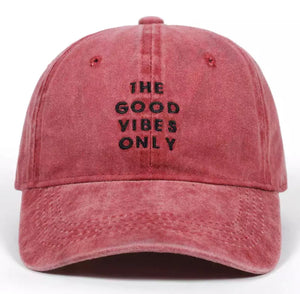 """The Good Vibes Only"" Dad Hat"