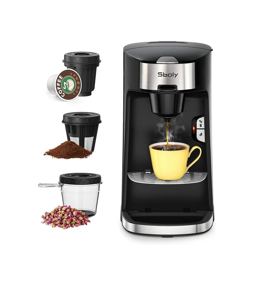 Black Dollar Coffee Machine (3 In 1)