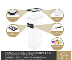 Food Storage Containers (14pc set)