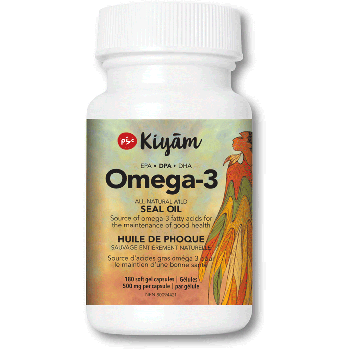 Pure Omega-3 Seal Oil with DPA 100% Natural