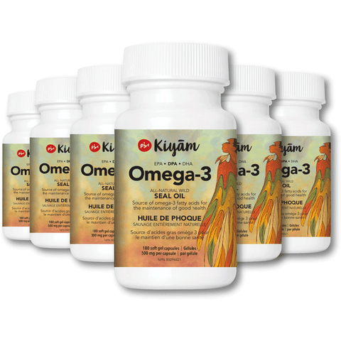 Pure, Sustainable, Wild-Hunted Omega-3 Seal Oil with DPA 100% Natural Ingredients 6 Bottles (Save 15%)
