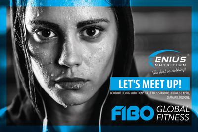 Genius Nutrition® is coming to FIBO 2020