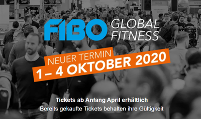 FIBO with new date from 1 to 4 October 2020