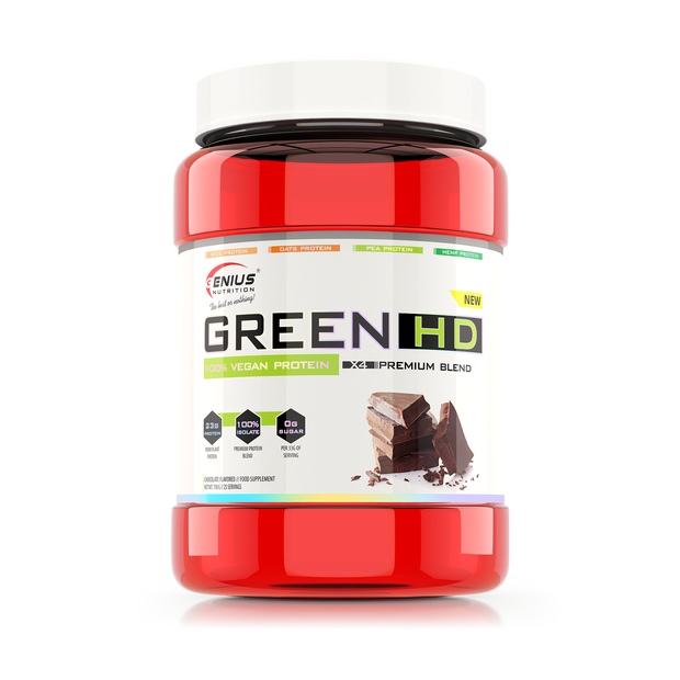 VEGAN PROTEIN GREEN-HD 750g/25serv