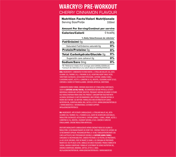 WARCRY® PWO 330ML