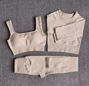 LIVY Khaki 3 Piece Set