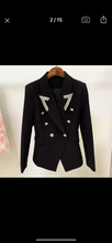 Load image into Gallery viewer, SEVILLA Black Blazer