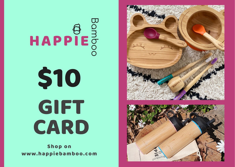 Happie Bamboo Gift Card