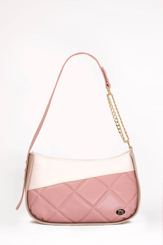 Zoie Bag - Beige/Blush