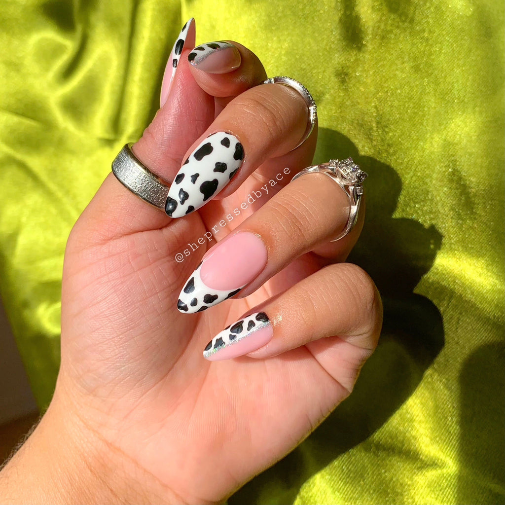 Glam Cow Print Set