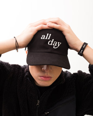 ALL DAY Dad Hat (Black)