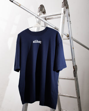 ALL DAY Blur T-Shirt (Deep Blue)