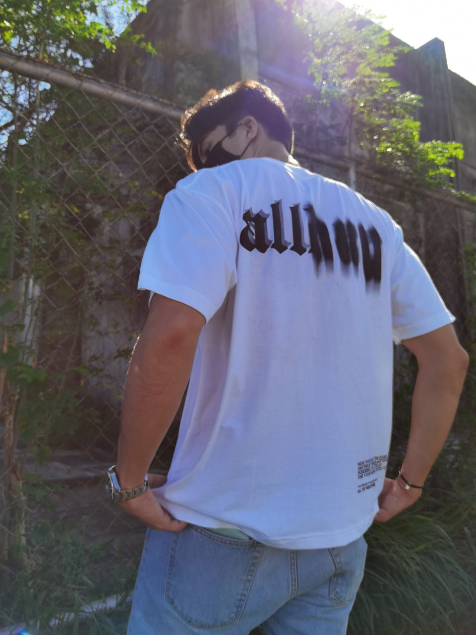 ALL DAY Blur T-Shirt (Ivory White) [SPECIAL RELEASE]