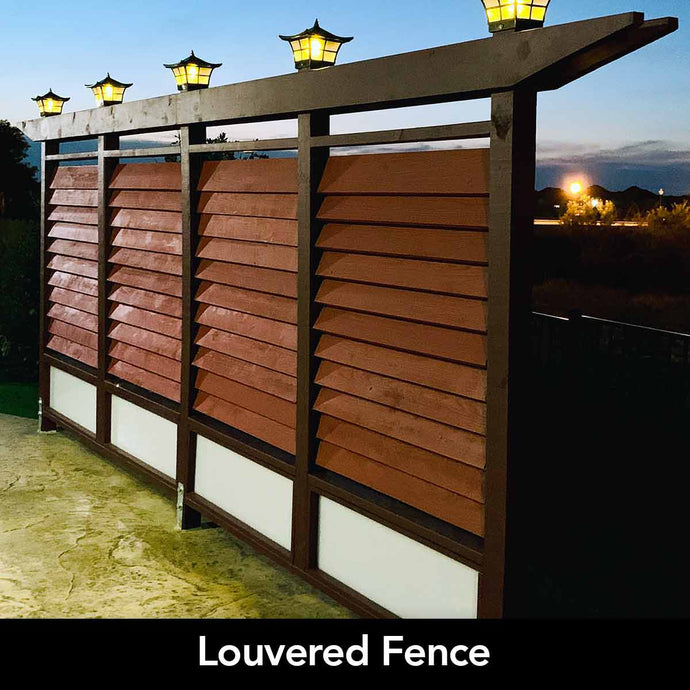 Louvered Fences Louvers for fences