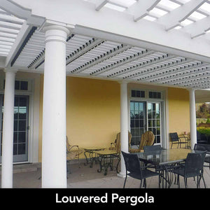 Louver Kit Direct Louvers for Pergola