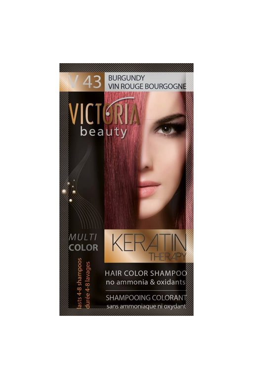 Victoria Beauty Keratin Therapy Hair Color Shampoo
