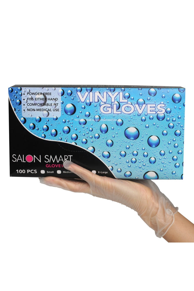Salon Smart Professional Vinyl Gloves 100pk