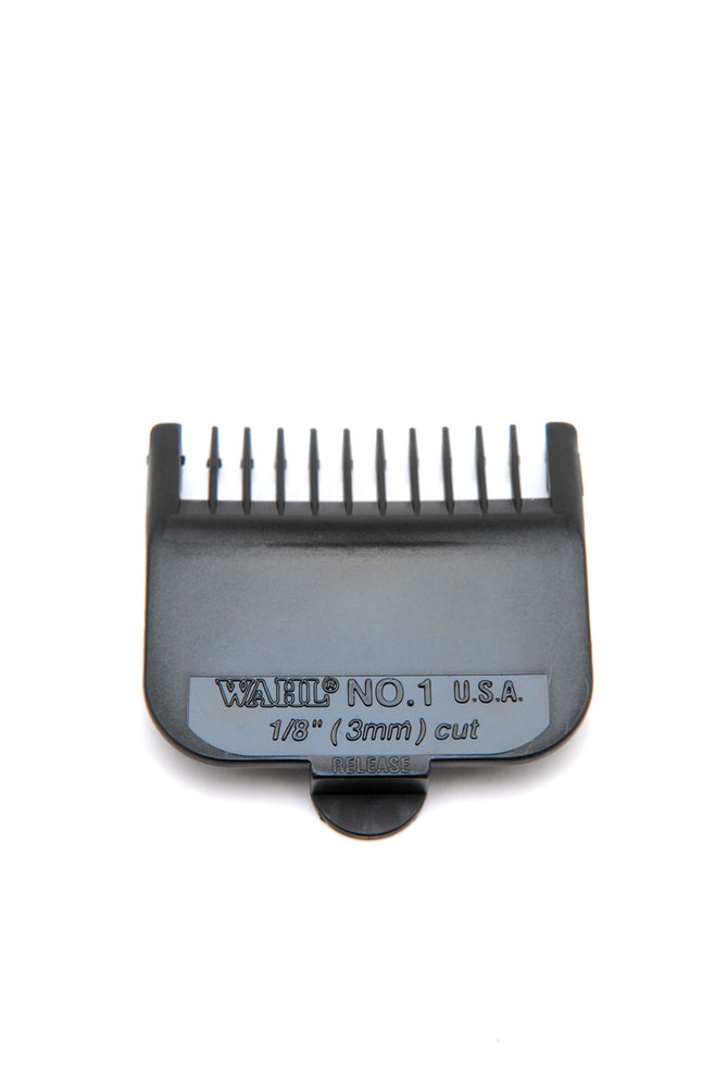 Wahl Black Plastic Attachment Combs