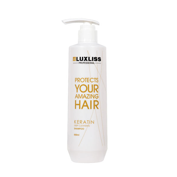 Luxliss Keratin Deep Cleansing Shampoo