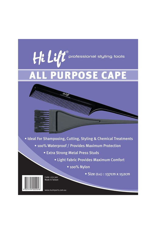 Hi Lift All Purpose Cape