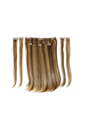 Showpony Clip In Synthetic Heat Resistant Hair Extensions