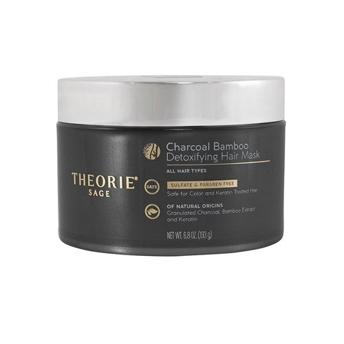 Theorie Charcoal & Bamboo Detoxifying Hair Mask