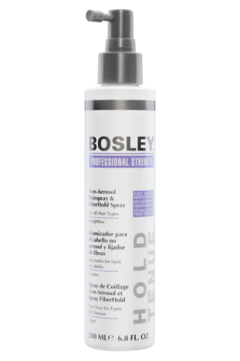 Bosley Non Aerosol Hairspray and Fiberhold Spray