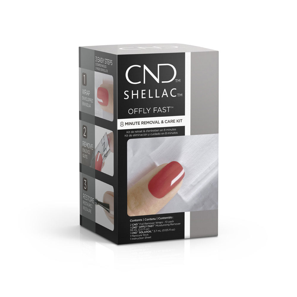 CND Offly Fast Removal Kit 1Pack Retail