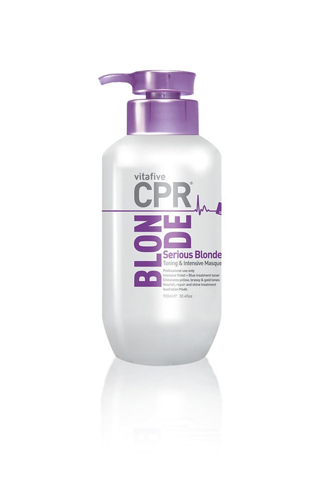 CPR Serious Blonde Toning & Intensive Masque