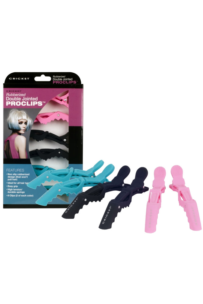 Cricket Rubberized Double Jointed ProClips