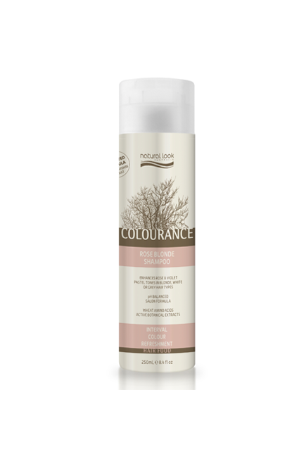 Natural Look Colourance Rose Blonde Shampoo
